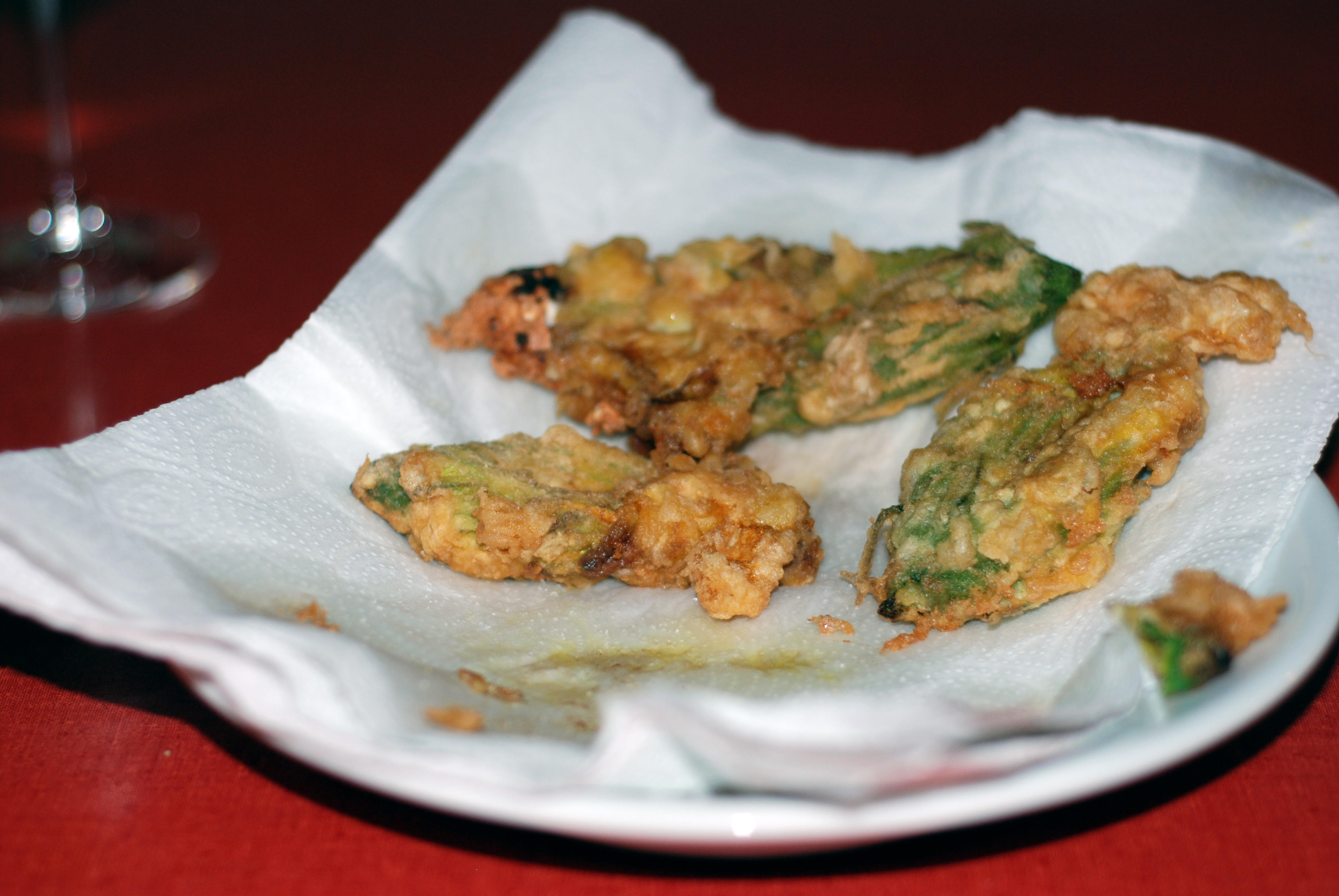 How to Fry Zucchini Blossoms - The Wednesday Chef