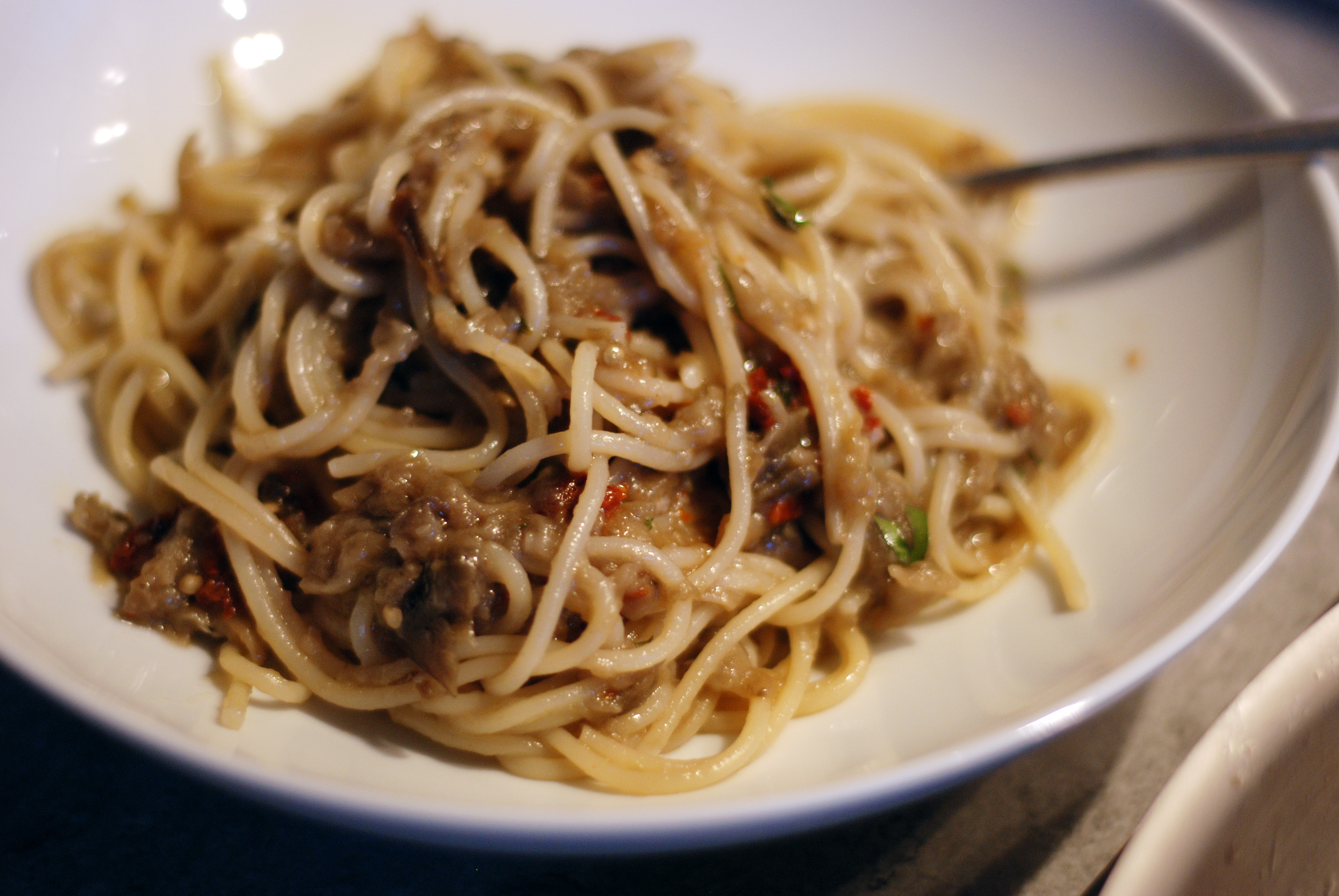 Francis Lam's Let My Eggplant Go Free Spaghetti   The Wednesday Chef