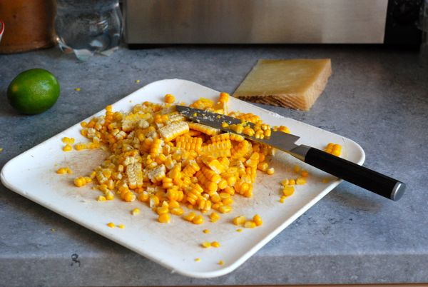 ... Roasted Corn with Manchego and Lime - The Wednesday Chef