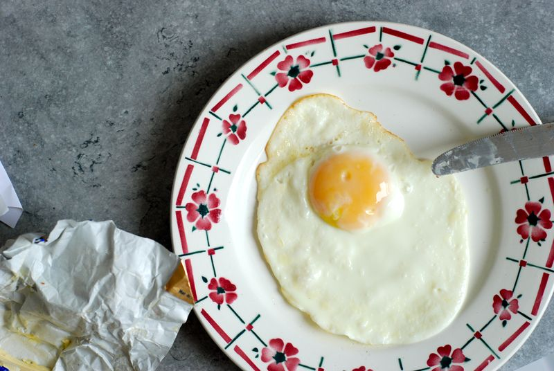 The Perfect Fried Egg Recipe — Dishmaps
