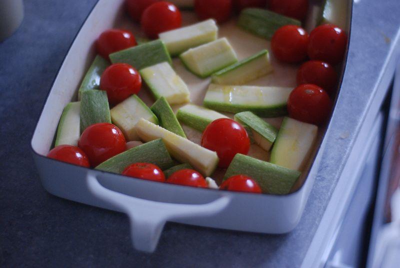 Raw veg