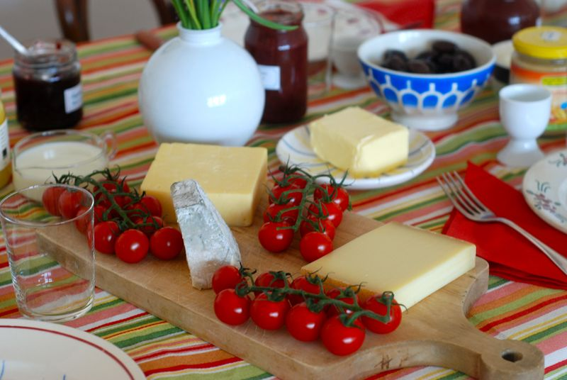 German breakfast cheeses