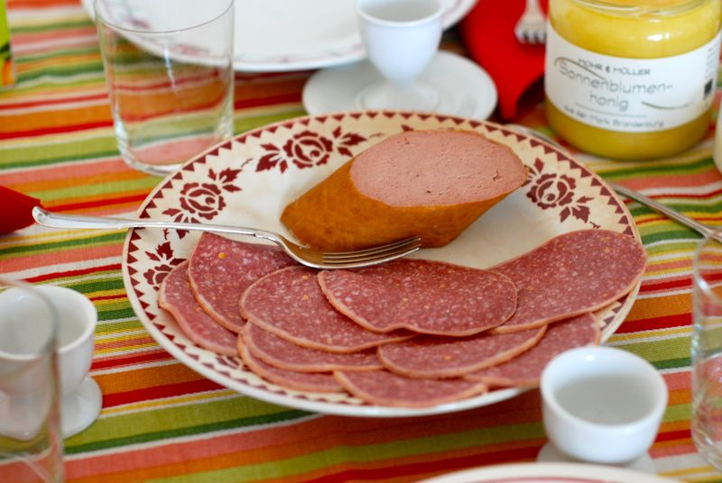 German breakfast meats