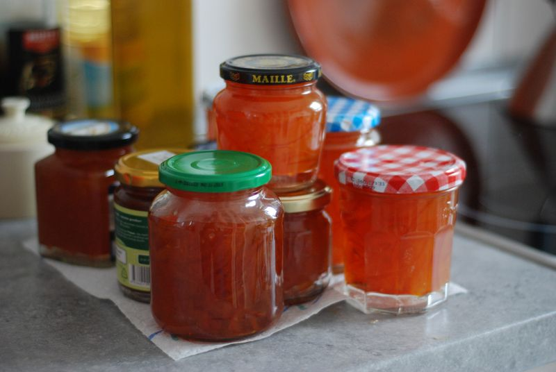 Sour orange marmalade