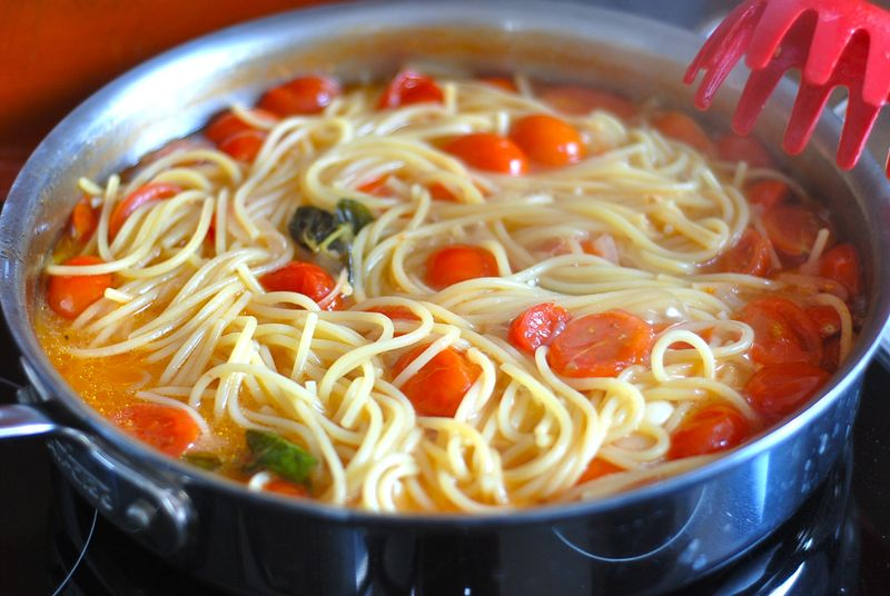 Martha's reduction spaghetti