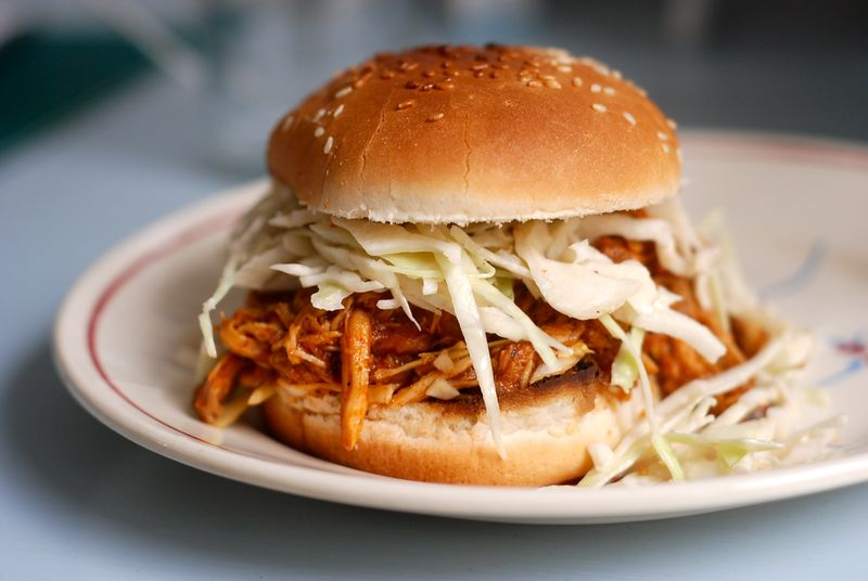 Jenny Rosenstrachs Pulled Chicken Sandwiches The Wednesday Chef