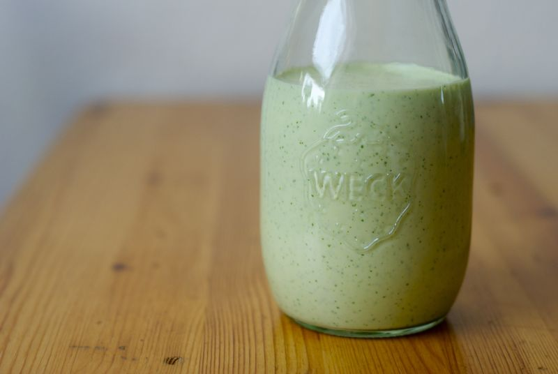 Mexican green goddess dressing