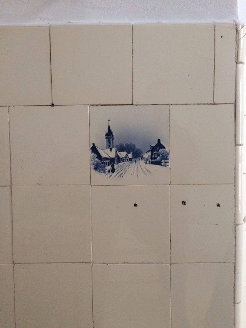 Tiles closeup