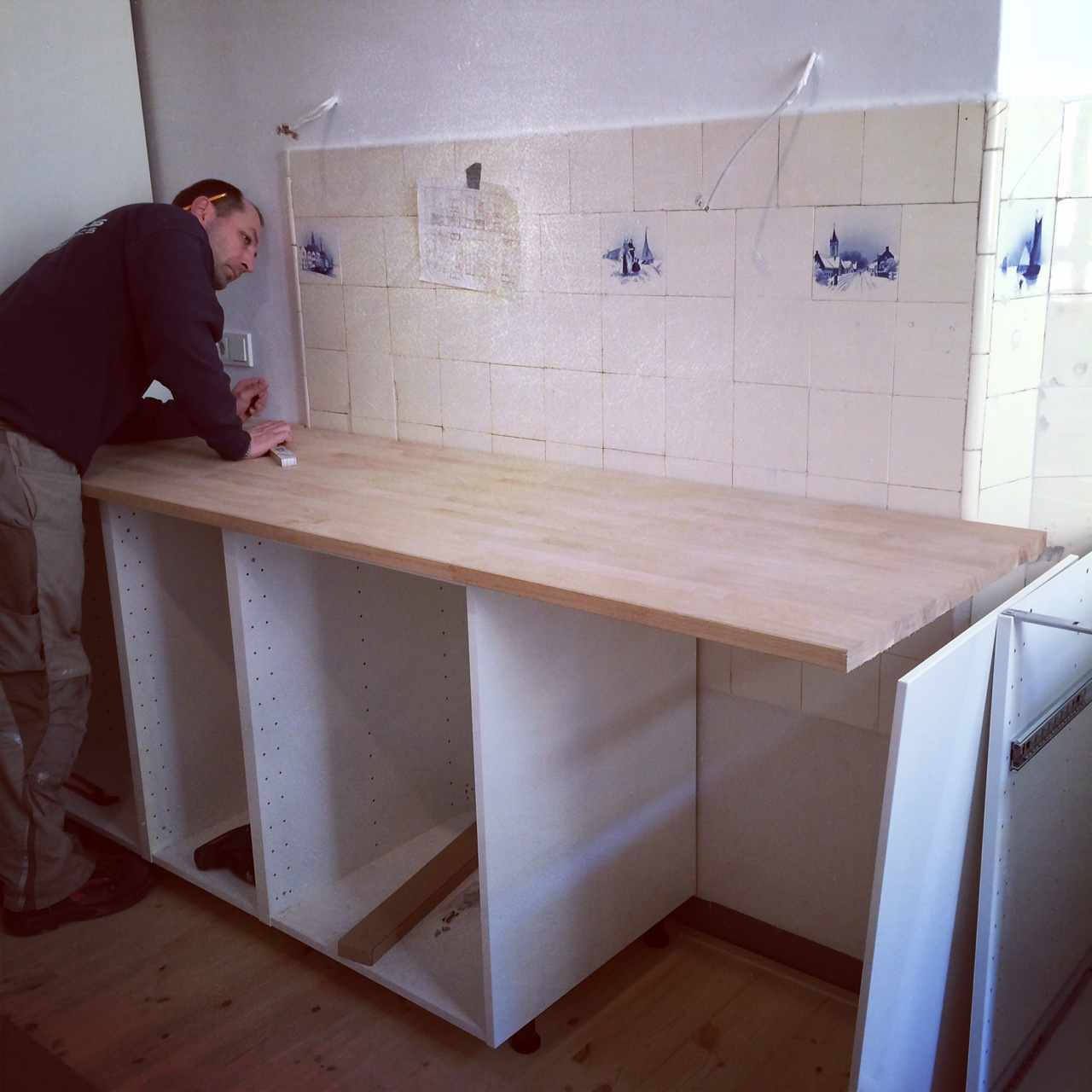 Uneven Kitchen Floor Our New Kitchen The Wednesday Chef