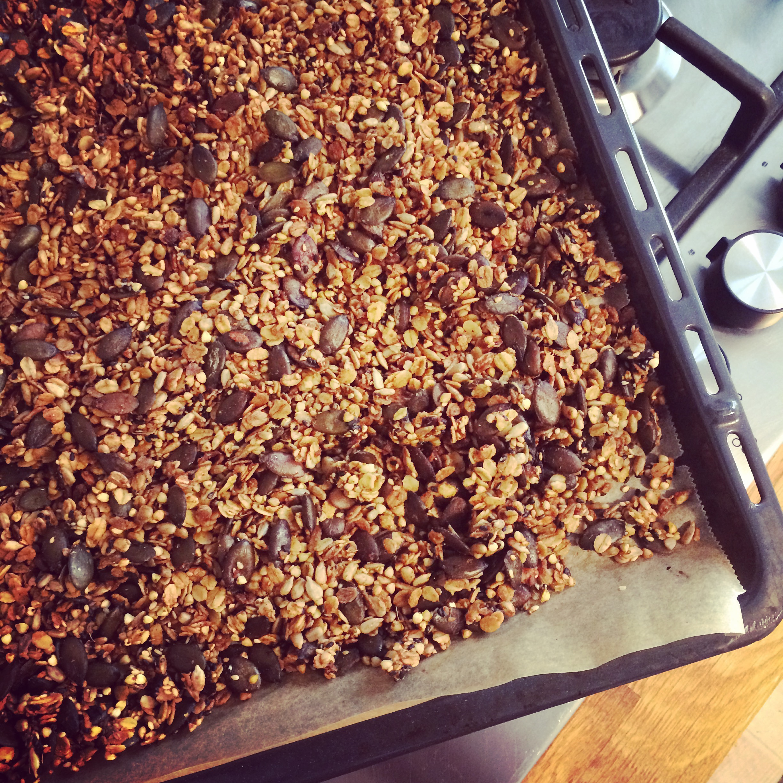 Alison Roman's Savory Granola - The Wednesday Chef