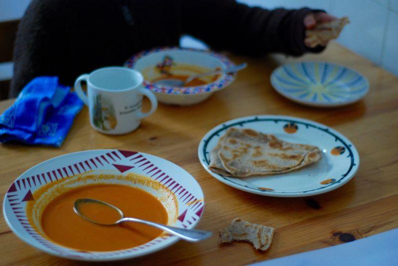 Melissa Clark's tomato coconut soup