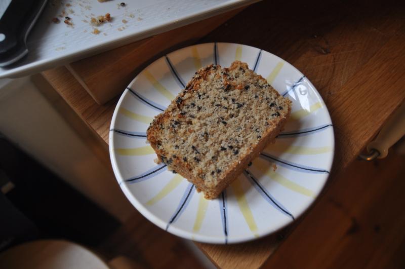Gluten-Free Simple Sesame Cake