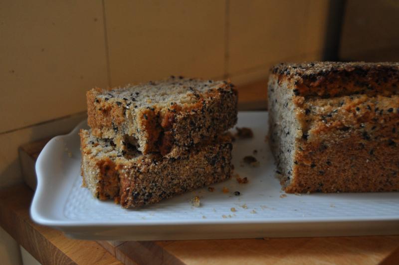 Gluten-Free Sesame Snacking Cake