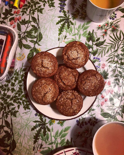 Genevieve Ko's Whole-Grain Banana Yogurt Muffins