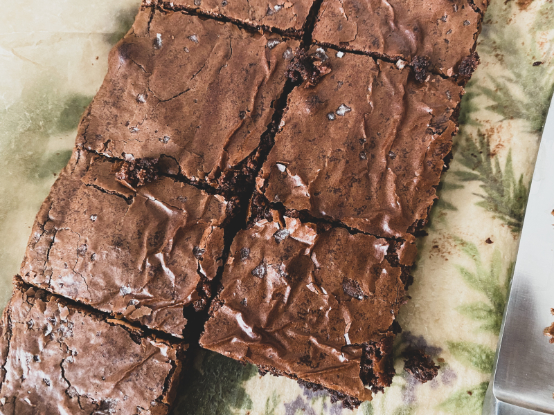 Nutella Buckwheat Brownies
