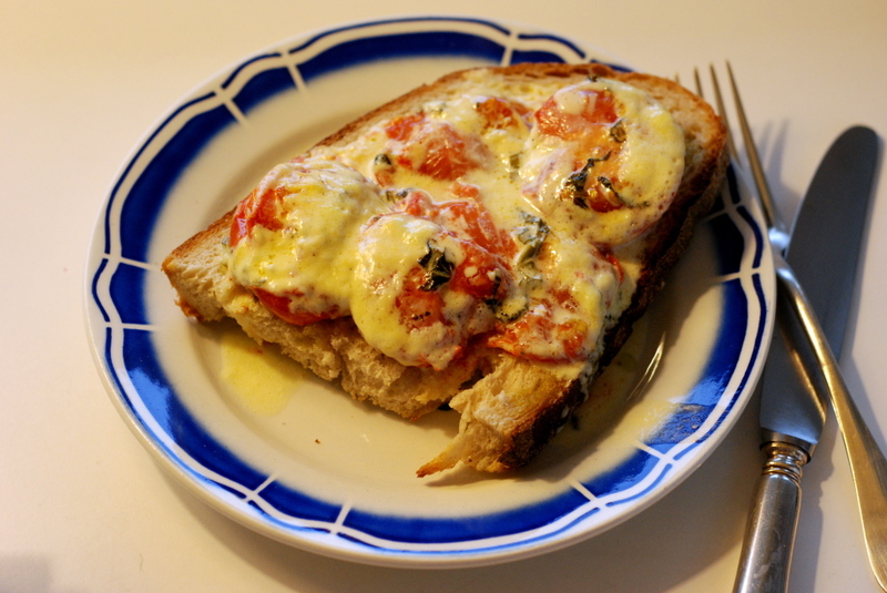 Simon Hopkinson's Creamed Tomatoes on Toast - The Wednesday Chef