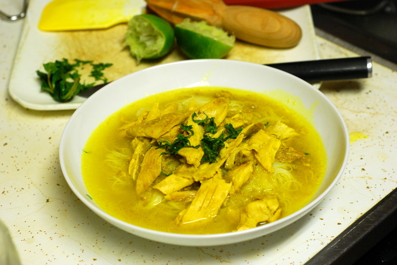 James Oselands Soto Ayam (Indonesian Chicken Soup with Noodles